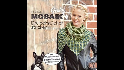 CraSy Mosaik Dreiecktücher stricken