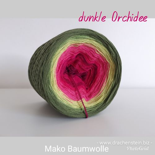 Baumwolle dunkle Orchidee