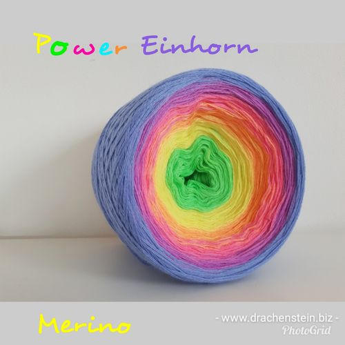 Merino Power Einhorn